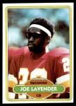 1980 Topps #299  Joe Lavender  Front Thumbnail