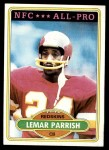 1980 Topps #430   -  Lemar Parrish All-Pro Front Thumbnail