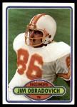 1980 Topps #437  Jim O'Bradovich  Front Thumbnail