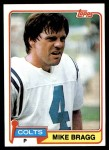 1981 Topps #483  Mike Bragg  Front Thumbnail