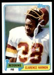 1981 Topps #391  Clarence Harmon  Front Thumbnail