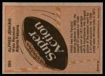 1981 Topps #284  Alfred Jenkins  Back Thumbnail