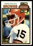 1979 Topps #53  Mark Miller  Front Thumbnail