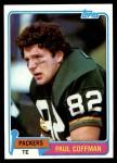 1981 Topps #353  Paul Coffman  Front Thumbnail