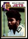 1979 Topps #141  Wesley Walker  Front Thumbnail