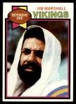 1979 Topps #274  Jim Marshall  Front Thumbnail