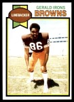 1979 Topps #288  Gerald Irons  Front Thumbnail