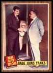 1962 Topps #136 NRM  -  Babe Ruth Babe Joins Yanks Front Thumbnail
