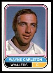 1975 O-Pee-Chee WHA #43  Wayne Carleton  Front Thumbnail