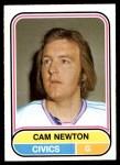 1975 O-Pee-Chee WHA #119  Cam Newton  Front Thumbnail