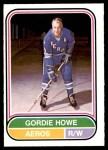 1975 O-Pee-Chee WHA #100  Gordie Howe  Front Thumbnail