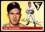 1955 Topps #32  Ed McGhee  Front Thumbnail