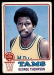 1973 Topps #185  George Thompson  Front Thumbnail