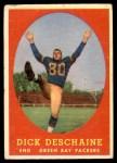 1958 Topps #48  Dick Deschaine  Front Thumbnail