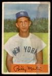 1954 Bowman #145 ALL Billy Martin  Front Thumbnail