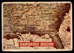 1956 Topps Davy Crockett Green Back #2   Dangerous Mission  Front Thumbnail