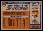 1976 Topps #442  Terry Hanratty  Back Thumbnail