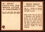 1967 Philadelphia #171  Bruce Bosley  Back Thumbnail