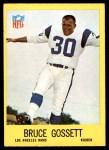 1967 Philadelphia #89  Bruce Gossett  Front Thumbnail