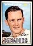 1967 Topps #118  Bernie Allen  Front Thumbnail