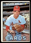 1967 Topps #404  Nelson Briles  Front Thumbnail