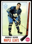 1969 Topps #52  Murray Oliver  Front Thumbnail