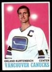 1970 Topps #117  Orland Kurtenbach  Front Thumbnail