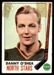1969 Topps #131  Danny O'Shea  Front Thumbnail