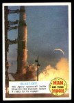 1969 Topps Man on the Moon #25 A  Blast-Off Front Thumbnail
