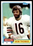 1981 Topps #477  Bob Thomas  Front Thumbnail