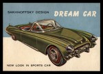1954 Topps World on Wheels #114   Sakhnoffsky Dream Car Front Thumbnail