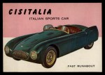 1954 Topps World on Wheels #102   Cisitalia Front Thumbnail
