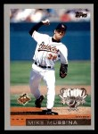 2000 Topps Opening Day #61  Mike Mussina  Front Thumbnail
