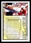 1999 Topps Opening Day #39  Mark McGwire  Back Thumbnail