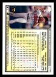 1999 Topps Opening Day #11  Greg Maddux  Back Thumbnail