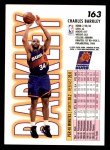 1993 Fleer #163  Charles Barkley  Back Thumbnail