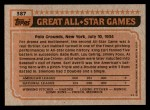 1983 Topps #387   -  Bobby Grich All-Star Back Thumbnail