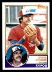 1983 Topps #320  Steve Rogers  Front Thumbnail