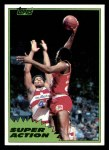 1981 Topps #110 MW  -  Moses Malone Super Action Front Thumbnail
