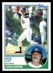 1983 Topps #15  Ron Cey  Front Thumbnail