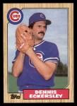 1987 Topps #459  Dennis Eckersley  Front Thumbnail