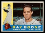 1960 Topps #281  Ray Boone  Front Thumbnail