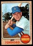 1968 Topps #492  Jeff Torborg  Front Thumbnail