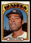 1972 Topps #387  Horace Clarke  Front Thumbnail