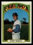 1972 Topps #290  Sonny Siebert  Front Thumbnail