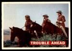 1956 Topps Davy Crockett #47   Trouble Ahead  Front Thumbnail
