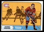 1968 Topps #63  Jacques Lemaire  Front Thumbnail