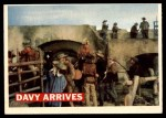 1956 Topps Davy Crockett #50   Davy Arrives  Front Thumbnail