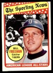 1969 Topps #431   -  Bill Freehan All-Star Front Thumbnail