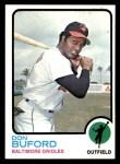 1973 Topps #183  Don Buford  Front Thumbnail